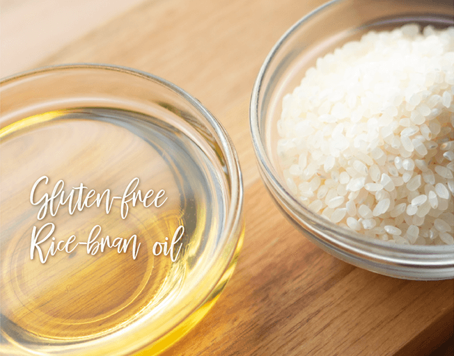 Rice brain oil for gluten free