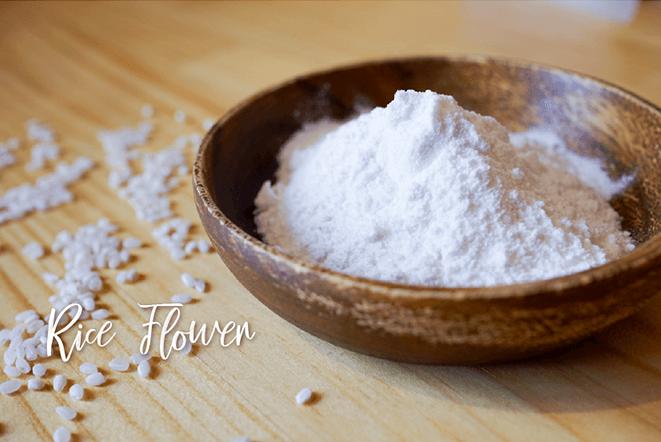 Rice flower for gluten free