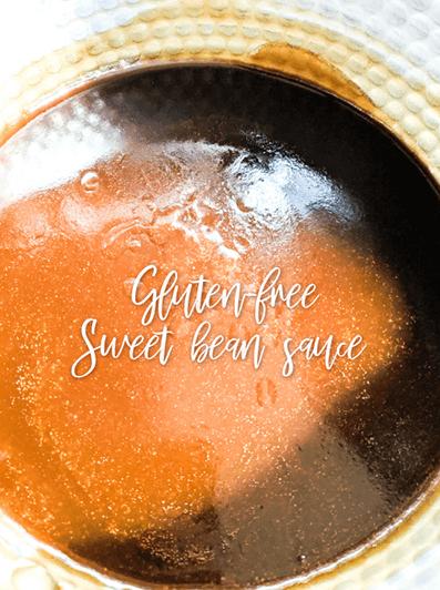 Gluten free homemade Chinese sweet bean sauce